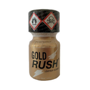 gold rush 10 ml amyle poppers planet