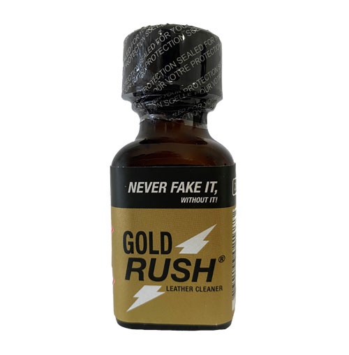 gold rush 25 ml amyle poppers planet