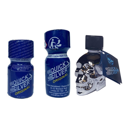 pack quick silver poppersplanet
