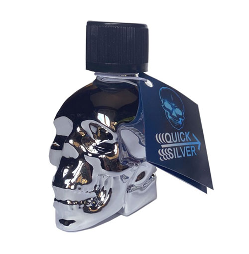 quick silver skull 25 ml amyle poppers planet