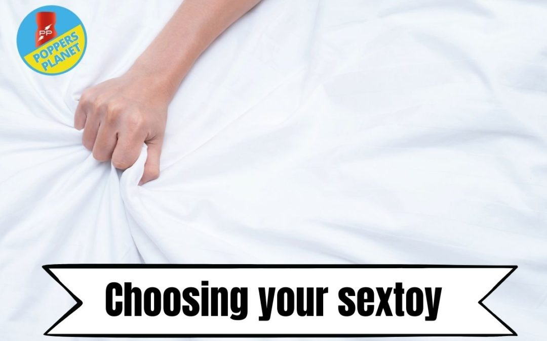 Choosing your sextoy