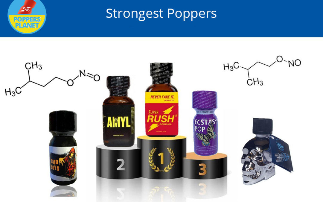 Top 5 Strongest Poppers!